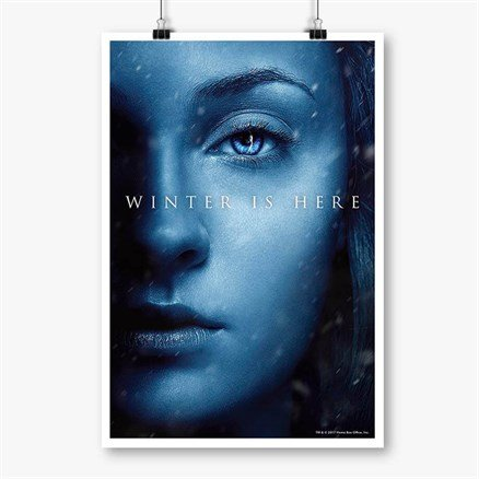Sansa Stark: Winter Is Here - Game Of Thrones Official Poster
