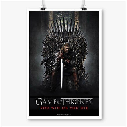 Season 1 Promo - Game Of Thrones Official Poster