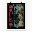 Sigil Banner - Game Of Thrones Official Poster