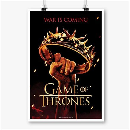 The Crown - Game Of Thrones Official Poster
