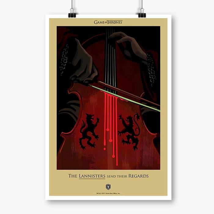 The Red Wedding: Beautiful Death - Game Of Thrones Official Poster