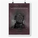 The Throne - Game Of Thrones Official Poster