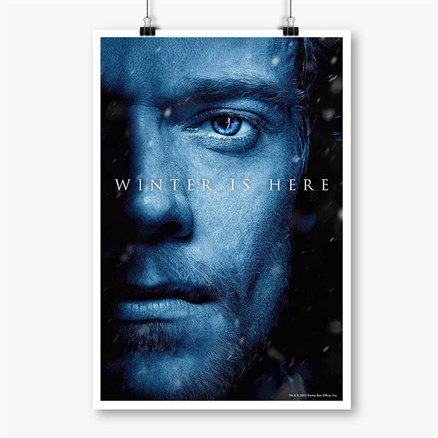 Theon Greyjoy: Winter Is Here - Game Of Thrones Official Poster