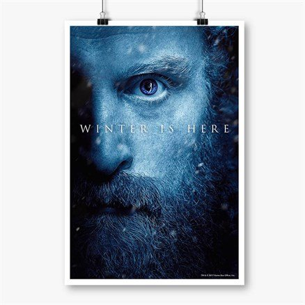 Tormund: Winter Is Here - Game Of Thrones Official Poster