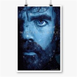 Tyrion Lannister: Winter Is Here - Game Of Thrones Official Poster