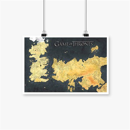 Westeros - Game Of Thrones Official Poster