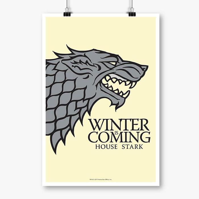 Winter Is Coming - Game Of Thrones Poster