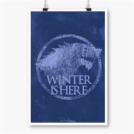 Winter is Here - Game Of Thrones Official Poster