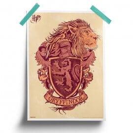 Gryffindor Pride - Harry Potter Official Poster