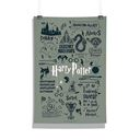 Harry Potter: Infographic Grey