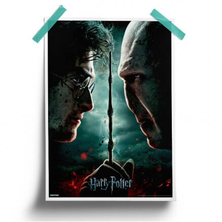 Harry vs Voldemort - Harry Potter Official Poster
