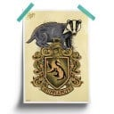 Hufflepuff Pride - Harry Potter Official Poster