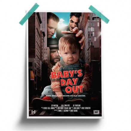 Baby's Day Out - Poster
