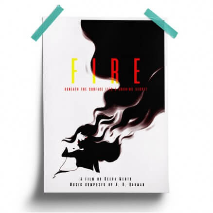 Fire: A Burning Secret - Poster