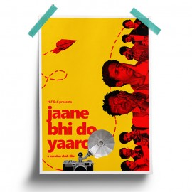Jaane Bhi Do Yaaro - Poster