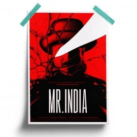 Mr. India - Poster