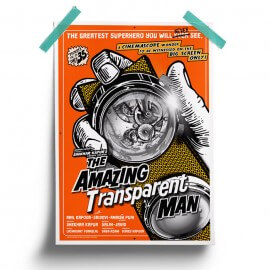 The Amazing Transparent Man - Poster