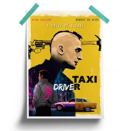 The Drive Of A Taxi - Poster
