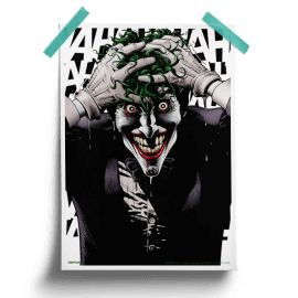 The Deranged Mind - Joker Official Poster