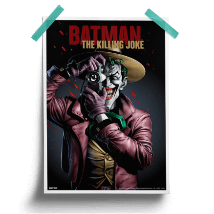 The Killing Joke - Joker Official Poster