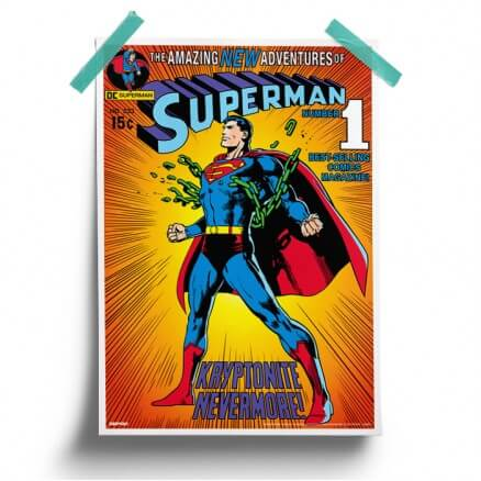 Kryptonite Nevermore - Superman Official Poster