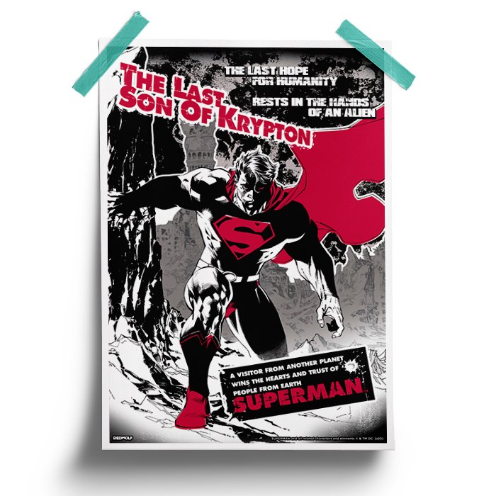Last Hope - Superman Official Poster