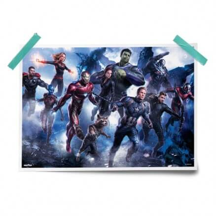 Avengers Line Up - Marvel Official Poster