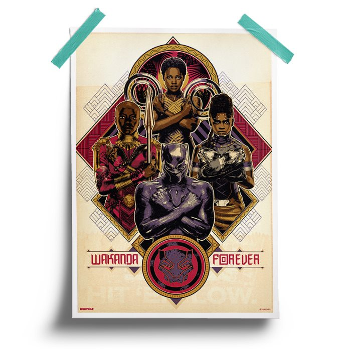 Protector Of Wakanda - Marvel Official Poster