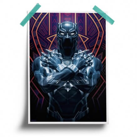 Black Panther Suit - Marvel Official Poster