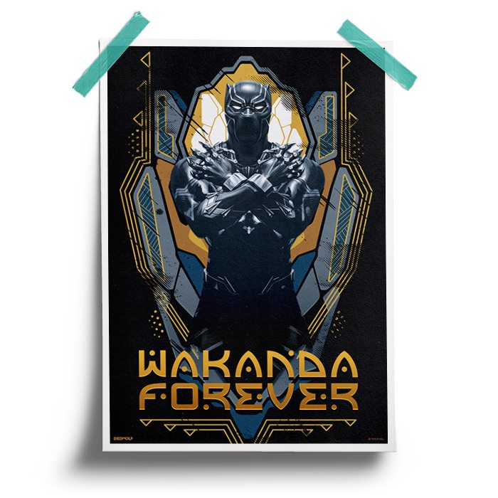 Wakanda Forever - Marvel Official Poster