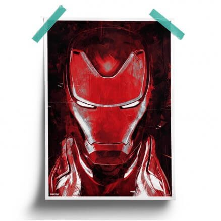 Iron Man: Sketch - Marvel Official Poster