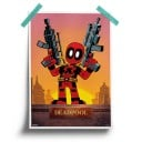 Kawaii Deadpool - Marvel Official Poster