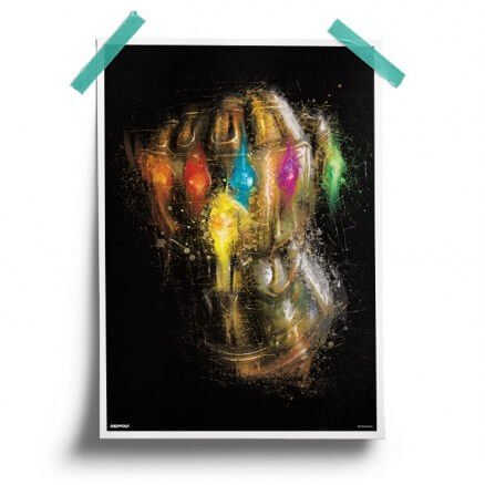 The Infinity Gauntlet - Marvel Official Poster