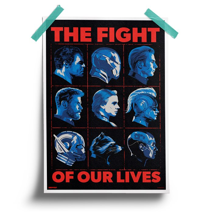 The Fight Of Our Lives - Marvel Official Poster