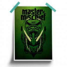 Master Of Mischief -  Marvel Official Poster