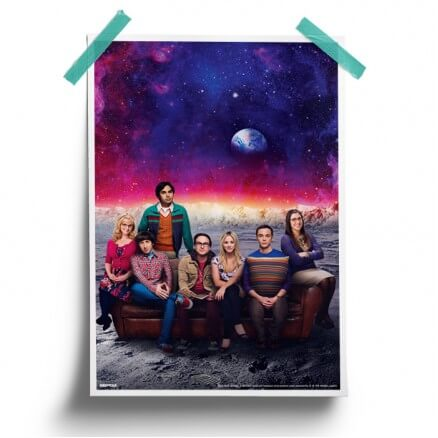 Moonlanding - The Big Bang Theory Official Poster