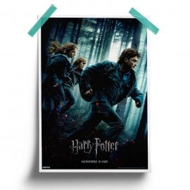 Nowhere Is Safe - Harry Potter Official Poster