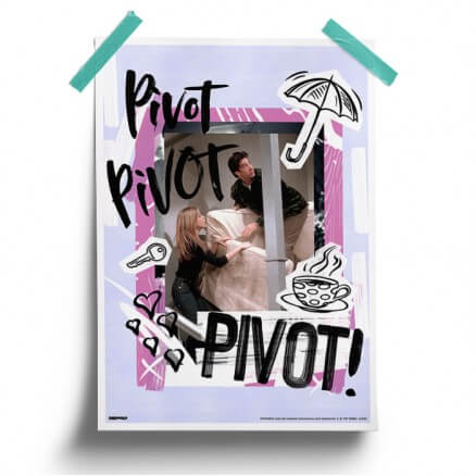 Pivot - Friends Official Poster