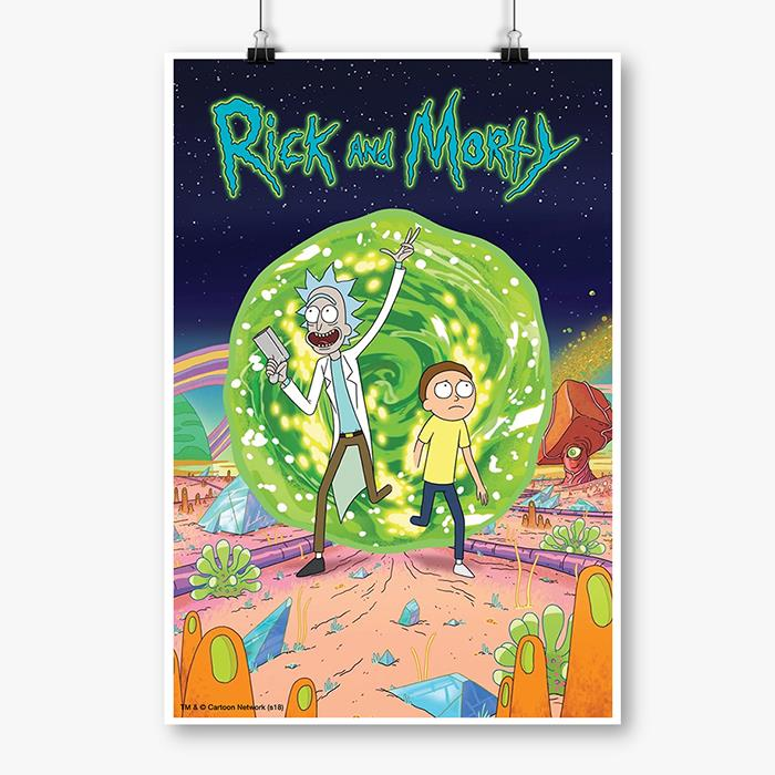Ricksy Business - Rick And Morty Official Poster