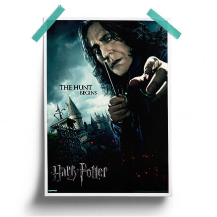 Severus Snape: The Hunt Begins - Harry Potter Official Poster