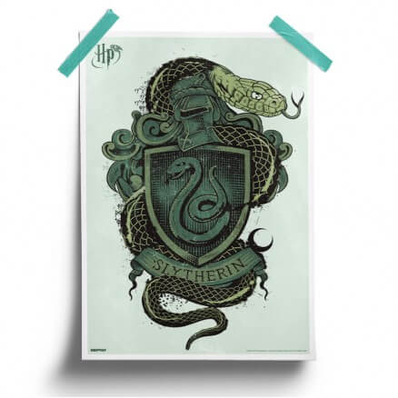 Slytherin Pride - Harry Potter Official Poster
