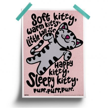 Soft Kitty - The Big Bang Theory Official Poster