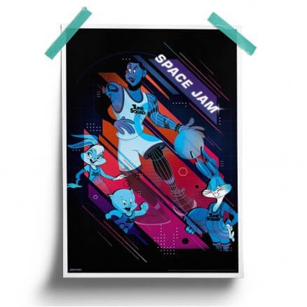 Space Jam: Animated - Space Jam Official Poster