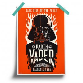 Darth Vader: Galactic Tour - Star Wars Official Poster