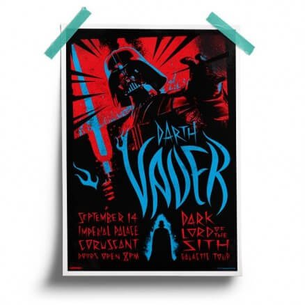 Darth Vader: Imperial Palace - Star Wars Official Poster