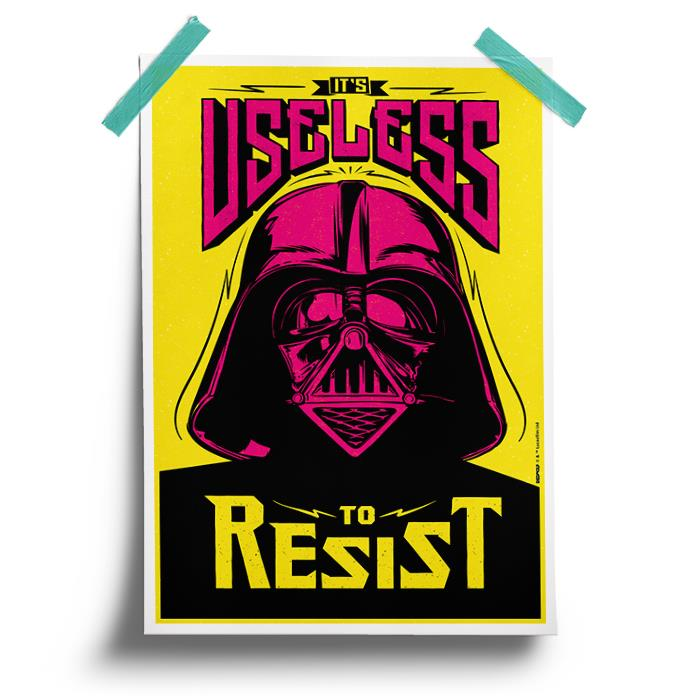 Futile Resistance - Star Wars Official Poster