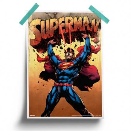 Super Strength - Superman Official Poster