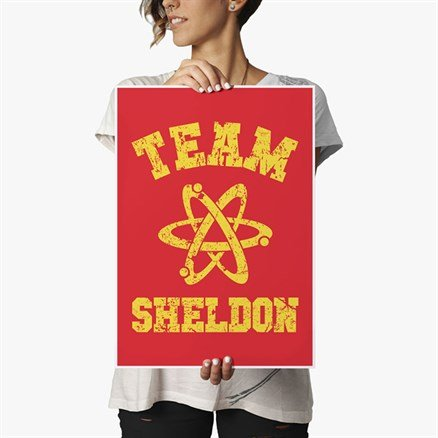 Team Sheldon - Poster