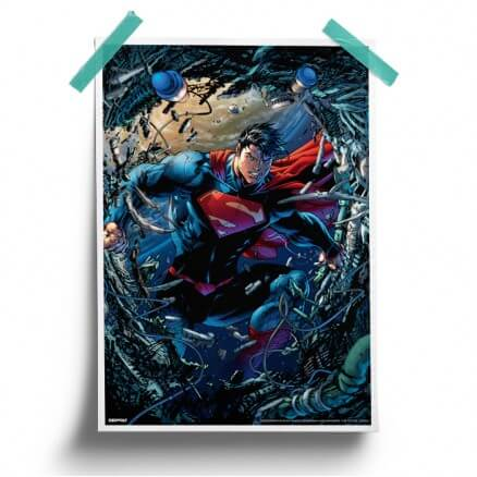 The Kryptonian - Superman Official Poster