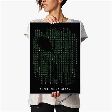 There Is No Spoon - Poster